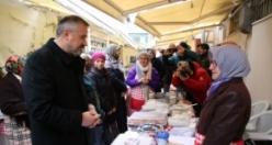 Başkan Kılıç'tan Emekçi Kadınlara Jest, Sıfır Atık Projesine Destek