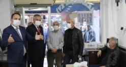 Bafra'da Korona Virüs Denetimi