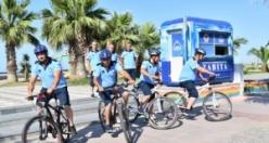 Bisikletli Zabıtalar İş Başında