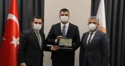 AK Parti Samsun'dan Genel Merkez'de Ziyaret Turu