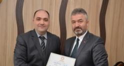 Başkan Osman Topaloğlu; Mazbatasını Aldı
