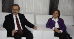 Başkan Zihni Şahin'in Eşi Şükriye Şahin Ağırladı