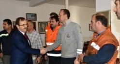 Başkan Zihni Şahin, Karayolları İşçileriyle Buluştu