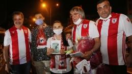 Atakum'da Bin Meşale Samsunspor İçin Yandı