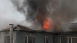 Bafra'da Çıkan Yangın Güçlükle Söndürüldü
