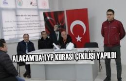 Alaçam'da TYP Kurası Çekilişi Yapıldı