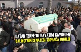 Balıkçı'nın Cenazesi 19 Mayıs İlçesinde Toprağa Verildi