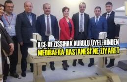 İlçe Hıfzıssıhha Kurulu Üyelerinden Medibafra'ya Ziyaret