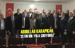 Karapıçak; İlçe Başkanlarıyla İlk Toplantısını...