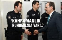 Başkan Zihni Şahin, Polis Okulu'nda