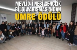 Mevlid-i Nebi Gençlik Bilgi Yarışması'ndan Umre Ödülü