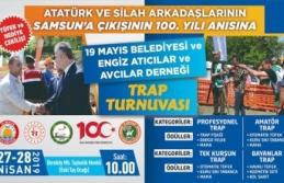 19 Mayıs İlçesinde Trap Atışları Turnuvası