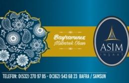 Bafra Asım İnşaat'tan Ramazan Bayramı Mesajı
