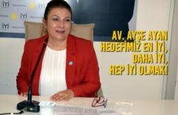 Av. Ayşe Ayan İYİ Parti İl Başkanlığına Adaylığını...
