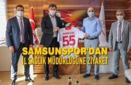 Samsunspor'dan İl Sağlık Müdürlüğüne...