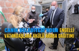 Canik Belediyesi'nden Engelli Vatandaşlara Akülü...