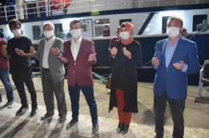 """Yakakent'li Balıkçılar """"Vira Bismillah"""" Diyerek Denize Açıldı"""