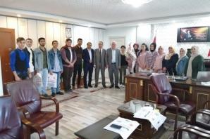 Üniversite Öğrencilerinden Bafra Müftülüğüne Ziyaret