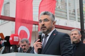 AK Parti Samsun SKM'ye Coşkulu Açılış