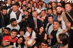 İmamoğlu, 19 Mayıs'ın 100'ncü Yılında Samsun'da Gençlerle Buluştu