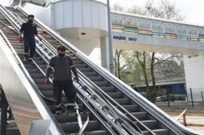Samsun Büyükşehir'den Doğupark'a 'Yürüyen Merdivenli Üst Geçit'