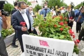Samsun'da Şehitlik Ziyareti