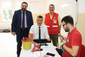 İsmet İnönü İlkokulunda Kan Bağışı Kampanyası
