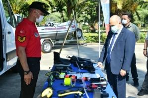 Vali Doç.Dr. Zülkif Dağlı'dan, İl Jandarma Komutanlığına Ziyaret