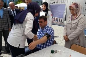 Bafra'da Mesleki ve Teknik Okullar Tanıtım Sergisi