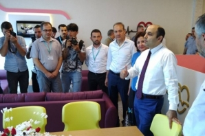 Bafra'da Anne Oteli Açılışı Gerçekleştirildi