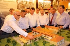 Vali Osman Kaymak Bafra'da İncelemelerde Bulundu