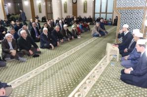 Bafra Çinili Camii'nde Mevlid Kandili Programı