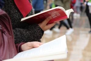 Bafra'da Kitap Okuma Etkinliği