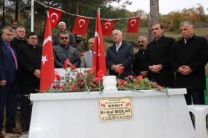 Şehit Erdal Bolat; Kabri Başında Anıldı