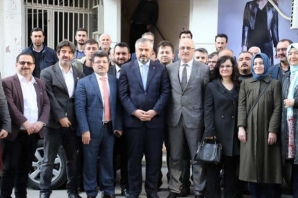 Bafra MHP'den AK Parti'ye İade-i Ziyaret