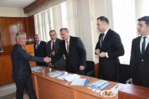 Alaçam'da İlk Belediye Meclisi Toplantısı