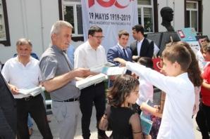 Alaçam'da Karma Resim Sergisi Açıldı