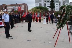 Bafra'da Gaziler Günü Törenle Kutlandı