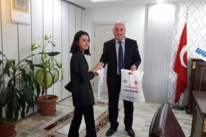 KYK Yurt Müdürlüğünden Müftü Kayar'a Ziyaret
