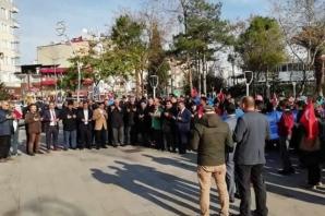 Bafra'da İHH Doğu Türkistan'daki Zulmü Kınandı