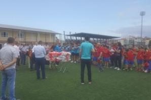 Mevlanaspor Yaz Futbol Okulunu Açtı