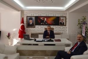 Başkan Kılıç'tan Yeni Kaymakam Adanur'a Ziyaret