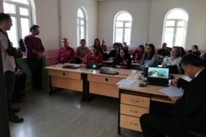 Bafra Cumhuriyet Ortaokulu AB Projeleri İçin Çalışıyor
