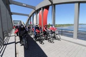 Bafra'da Pedallar 19 Mayıs Coşkusuyla Çevrildi