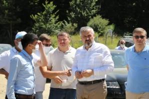 Başkan Kılıç Bafra'yı Karış Karış Dolaşıyor