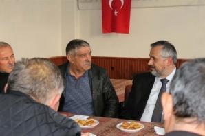 Başkan Kılıç'tan Bafra Minibüsçüler Birliğine Ziyaret