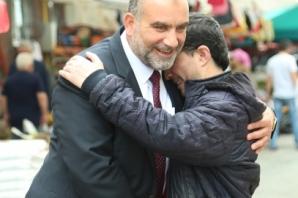 Başkan Sandıkçı'dan Pazar Ziyareti