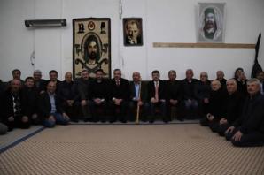 Başkan Hamit Kılıç'tan Cemevi'ne Ziyaret