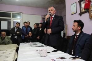 Bafra; Başkan Kılıç'ı Bağrına Basıyor
