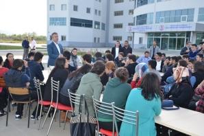 Başkan Topaloğlu'ndan Ballıca Kampüsü'nde Tanışma Yemeği